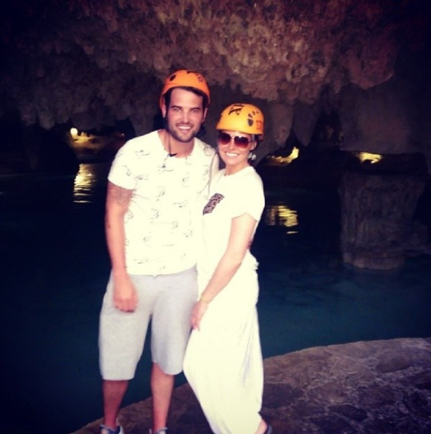 TOWIE's Jessica Wright and Ricky Rayment enjoy a holiday to Mexico - 12 May 2014