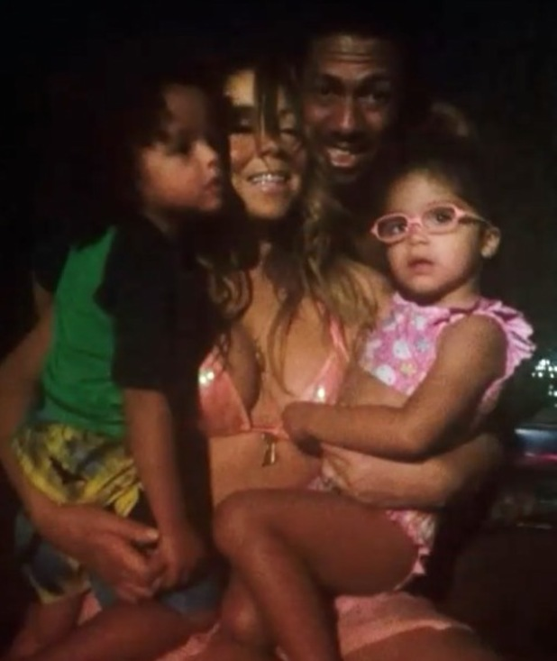 Mariah Carey shares photos from her Mother's Day celebrations (11 May).