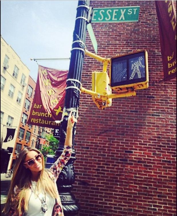 Lauren Pope finds Essex in New York 13.05.14