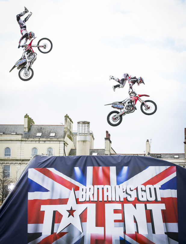 BoldDog FMX audition on Britain's Got Talent (18 April 2014).