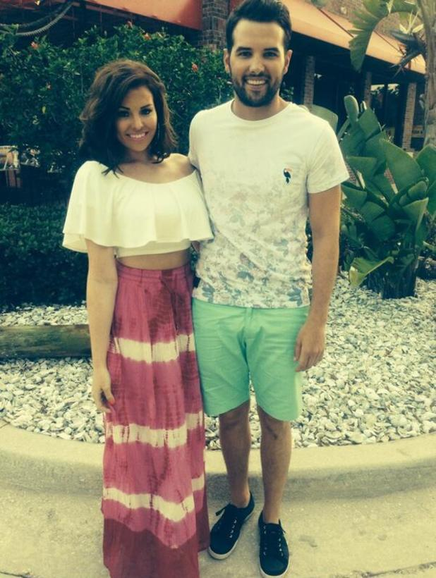 Jessica Wright and Ricky Rayment share holiday pictures during their holiday in Florida - 16 May 2014
