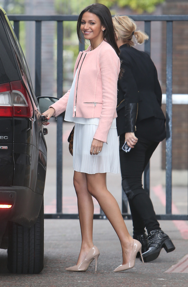 Pink Dress And Jacket