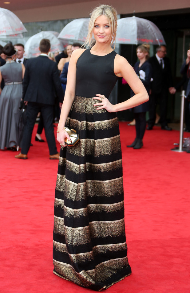Laura Whitmore attends the Arqiva British Academy Television Awards (BAFTAs) 2013 in London, England - 12 May 2013