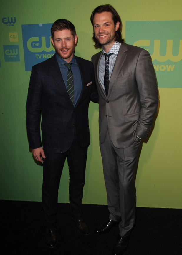 Jensen Ackles, Jared Padalecki at The CW Upfronts 2014 at The London Hotel by The New York City Center, 15 May 2014