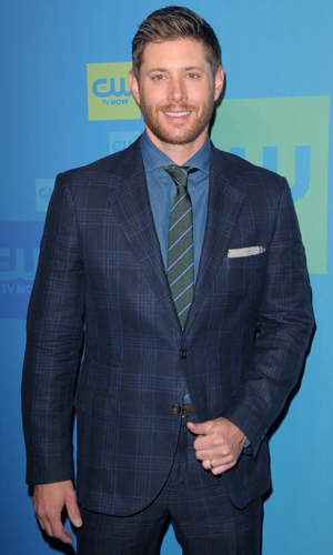 Jensen Ackles at The CW Upfronts 2014 at The London Hotel by The New York City Center, 15 May 2014