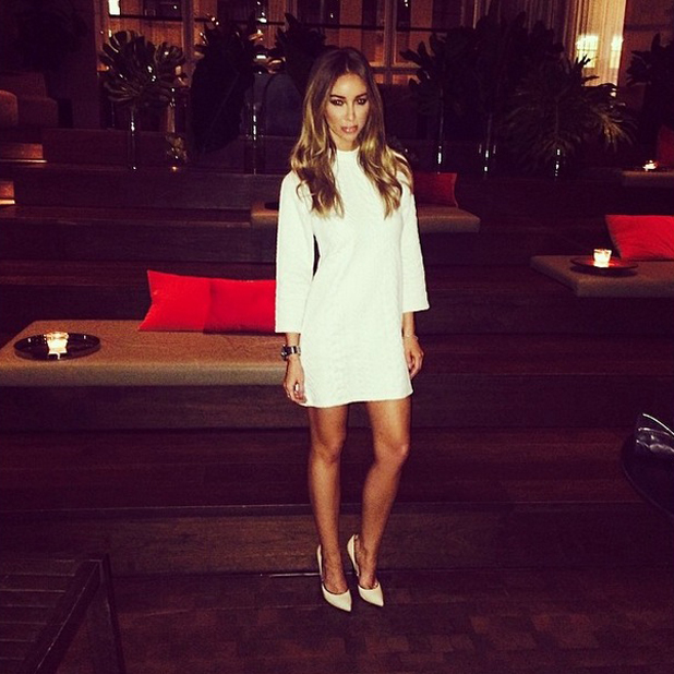 Lauren Pope on holiday in New York, May 2014