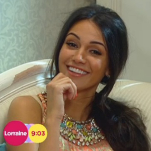 Michelle Keegan talks about her style icons for ITV's Lorraine's website, May 2014