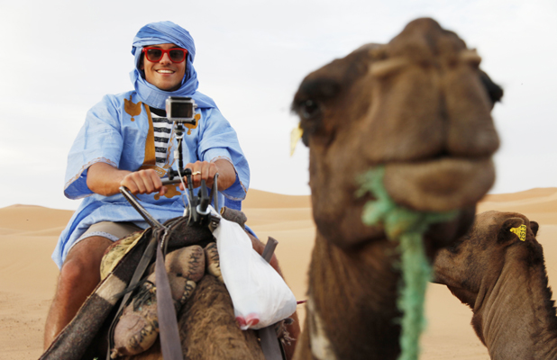 Tom Daley and Sophie Lee travel to Morocco on the final episode of Tom Daley Goes Global, still image, airs 15 May 2014