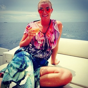 Billi Mucklow holidaying with Andy Carroll in Maldives - 20 May