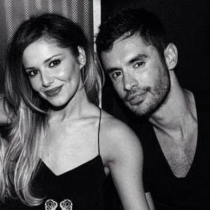 Cheryl Cole and rumoured new boyfriend Jean-Bernard Fernandez-Versini, 18 May 2014