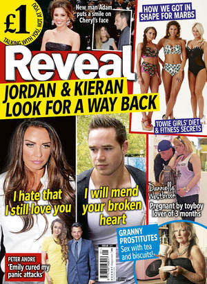 Reveal magazine week 21 cover, 2014