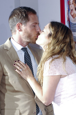 Will Kopelman and Drew Barrymore at Los Angeles Premiere of 'Blended' at TCL Chinese Theatre - Arrivals 05/21/2014 Los Angeles, United States