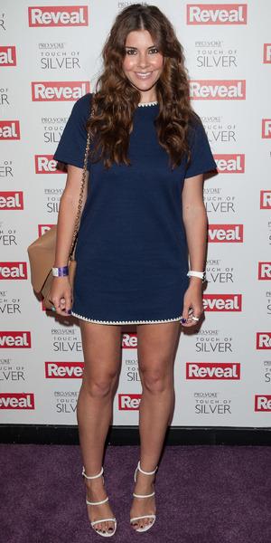 Imogen Thomas, Reveal Online Fashion Awards held at DSTRKT - inside arrivals, 20 May 2014