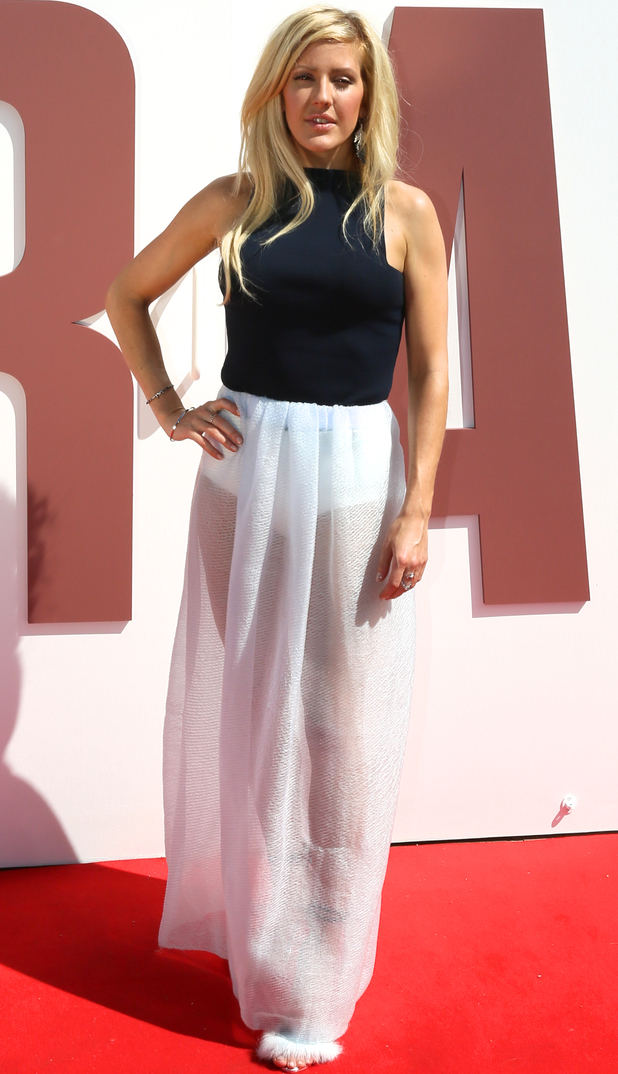 Ellie Goulding attends the British Designers Collective in Bicester Village - 21 May