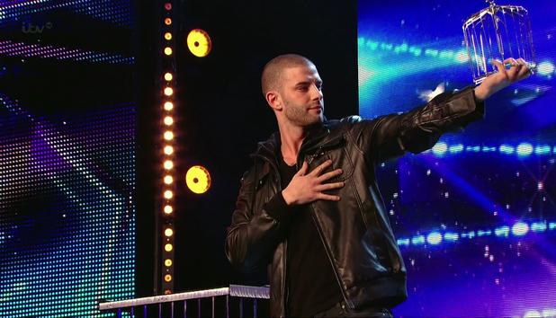 Magician Darcy Oake on Britain's Got Talent, ITV