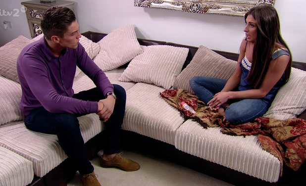 Grace Andrews and Lewis Bloor on ITV2's The Only Way Is Essex