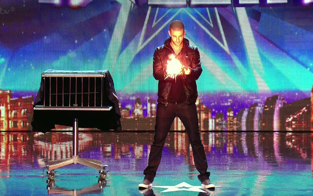 Darcy Oake on Britain's Got Talent, 2