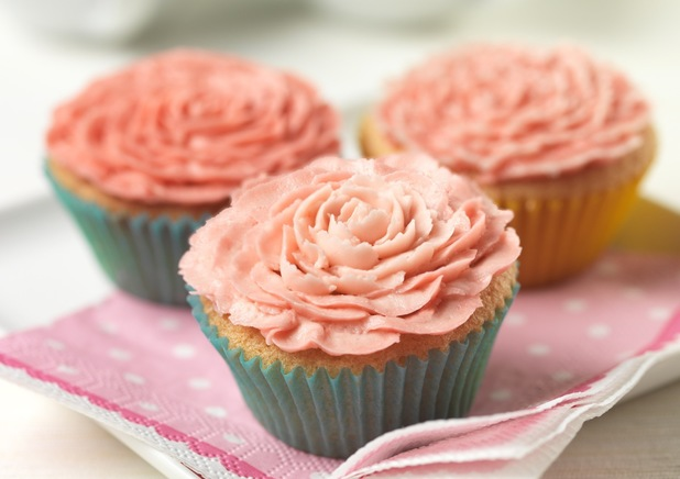 Main picture of flower cupcakes