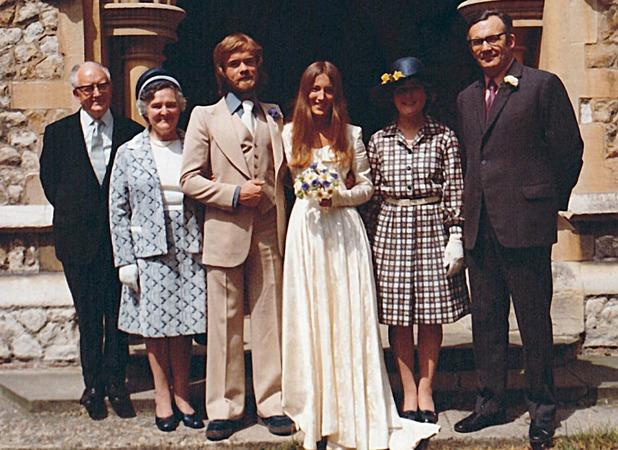 Lucy Dafforn, One dress, three weddings