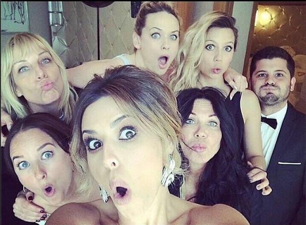 Cheryl Cole recreates the Oscar selfie in Cannes 20/05/14