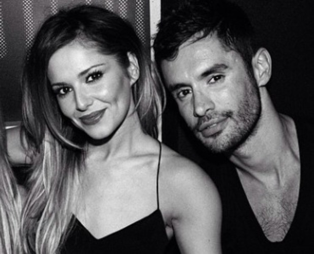 Cheryl Cole and rumoured new boyfriend Jean-Bernard Fernandez-Versini, 18 May 2014