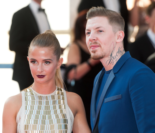 Millie Mackintosh and Professor Green, Arqiva British Academy Television Awards held at the Theatre Royal, Drury Lane - Arrivals. 18 May 2014