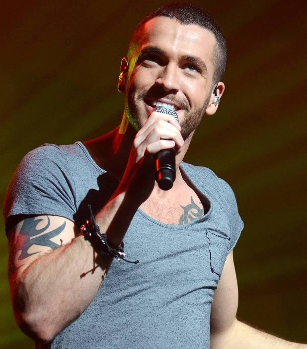 Shayne Ward performing live at the Olympia Theatre - 26 March 2011
