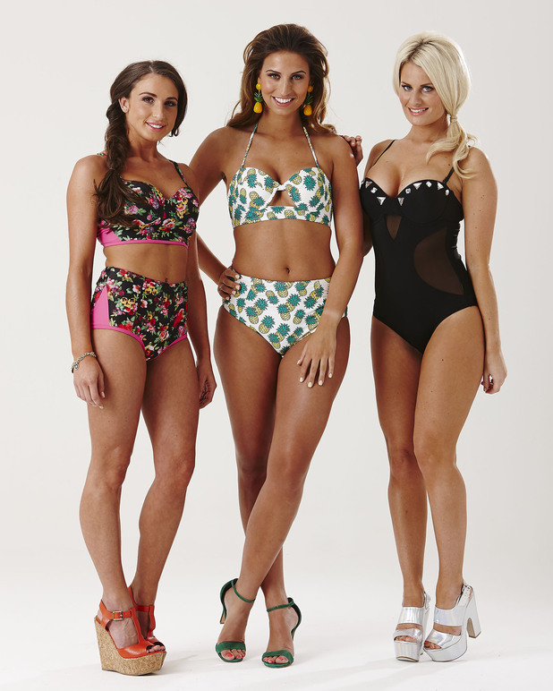 Fearne, Danielle and Grace from TOWIE getting ready for Marbs