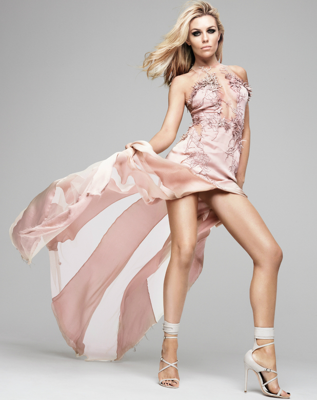 Abbey Clancy poses as the new ambassador for Veet and Scholl - 19 May 2014