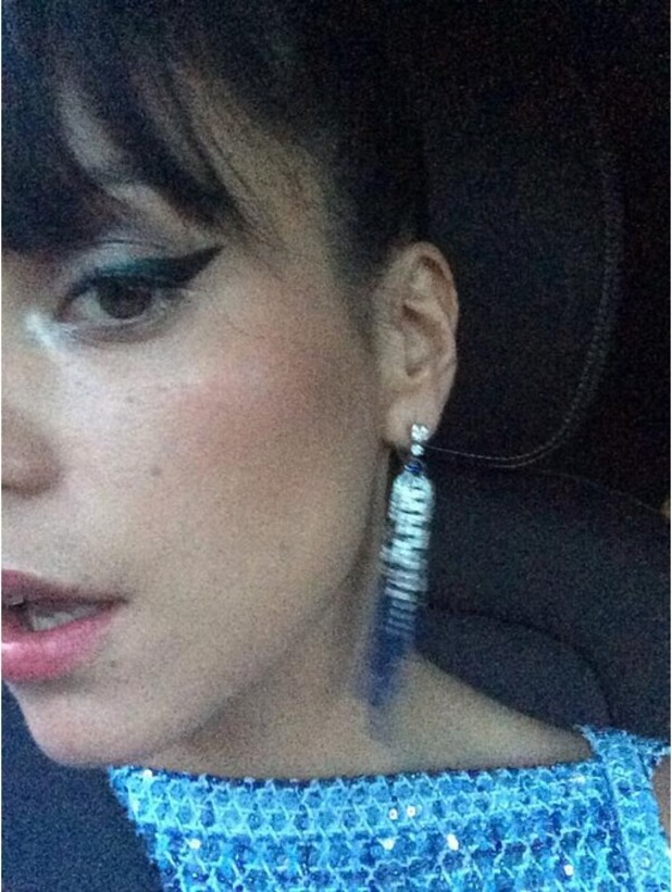 Lily Allen shares a photo of herself at Cannes