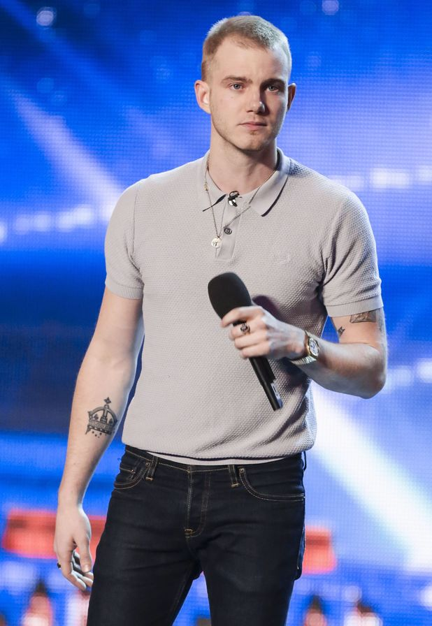 Ed Drewett auditions on Britain's Got Talent (17 May).
