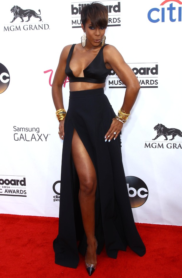 Kelly Rowland attends 2014 Billboard Awards Red Carpet at the MGM Grand Resort Hotel and Casino - 18 May 2014