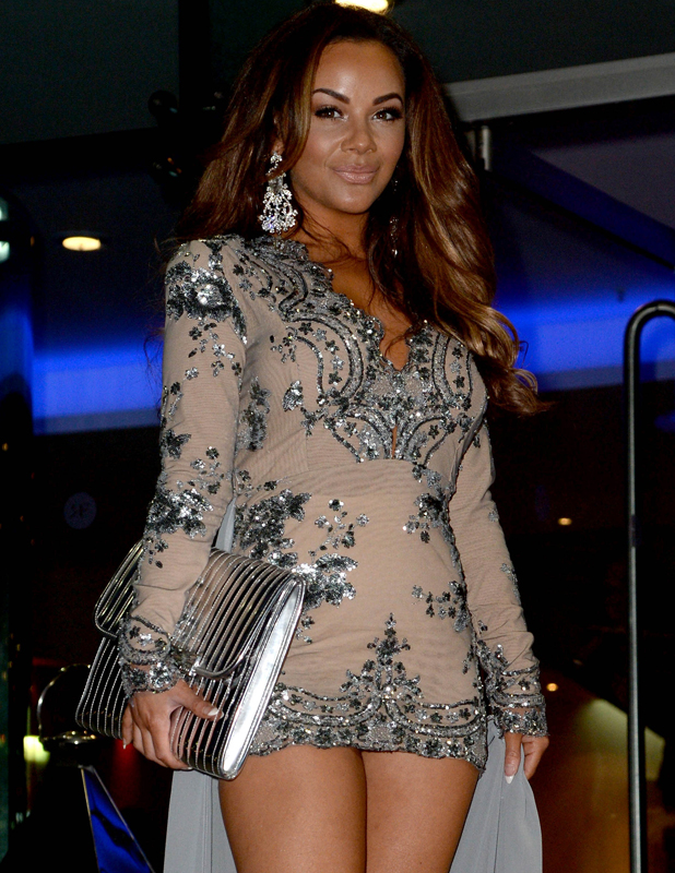 Chelsee Healey, The Mirror Ball 2014 held at Lowry Hotel - Arrivals, 7 March 2014