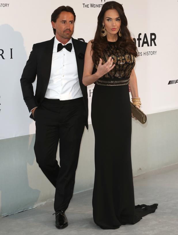 Tamara Ecclestone and Jay Rutland, amfAR 21st Annual Cinema Against AIDS during the 67th Cannes Film Festival at Hotel du Cap-Eden-Roc, 22 May 2014