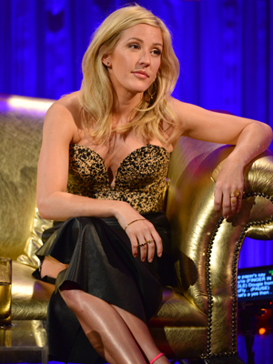 Ellie Goulding appears on Alan Carr Chatty Man, episode airing 23 May 2014