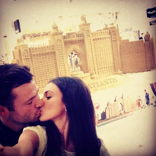 Michelle Keegan and Mark Wright kiss in Dubai in cute throwback picture, May 2014