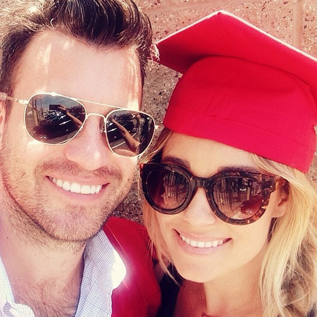 Lauren Conrad is proud as fiance William Tell graduates from law school, May 2014