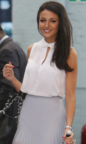 Michelle Keegan leaving ITV after appearing on This Morning to discuss Tina's exit, 21 May 2014