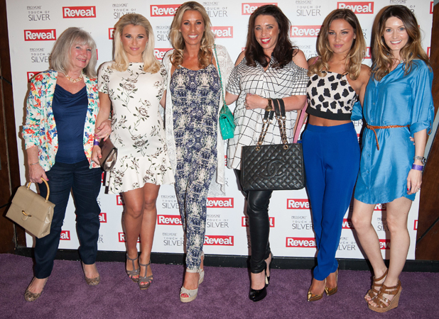 The Minnies Boutique team at Reveal Online Fashion Awards held at DSTRKT, London, 20 May 2014