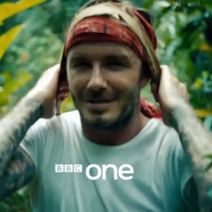 David Beckham's new documentary for BBC One, titled - David Beckham: Into The Unknown. 30 May 2014.