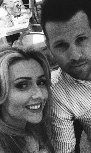 Gemma Merna on holiday with Ian Minton, May 14.