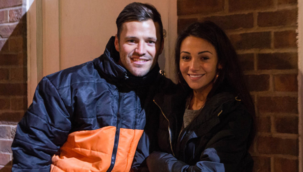 Michelle Keegan films her final scene as Tina McIntyre on Coronation Street, aired 27 May 2014