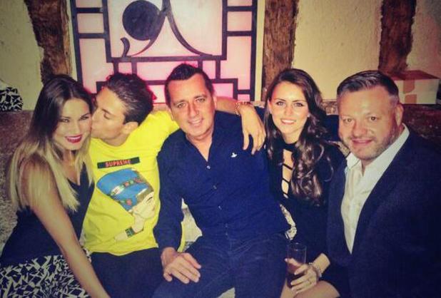 Sam Faiers enjoys night out at Sugar Hut with boyfriend Joey Essex, 30 May 2014