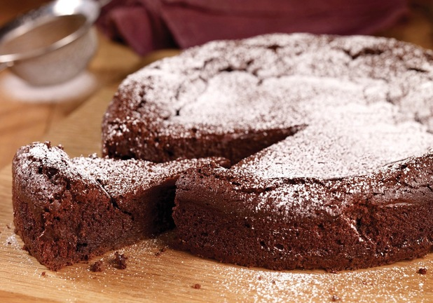 Chocolate squidgy cake