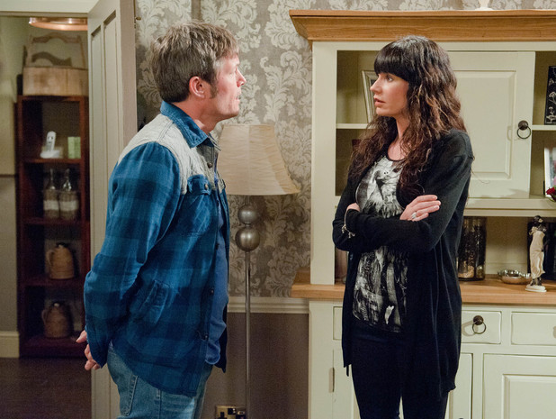 Emmerdale, James confesses to Chas, Fri 30 May
