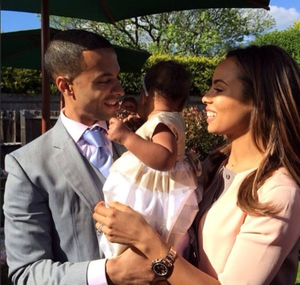 Marvin and Rochelle Humes host daughter Alaia-Mai's birthday party and Christening (26 May).