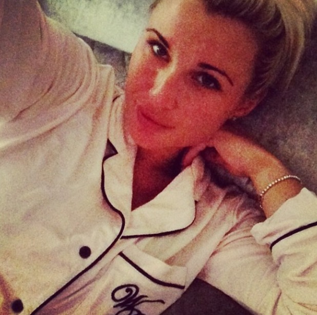 Billie Faiers posts a no make-up selfie. May 14.