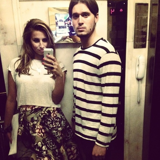 TOWIE's Ferne McCann shares new pictures of herself and Charlie Sims during her girls' holiday in Las Vegas - 28 May 2014