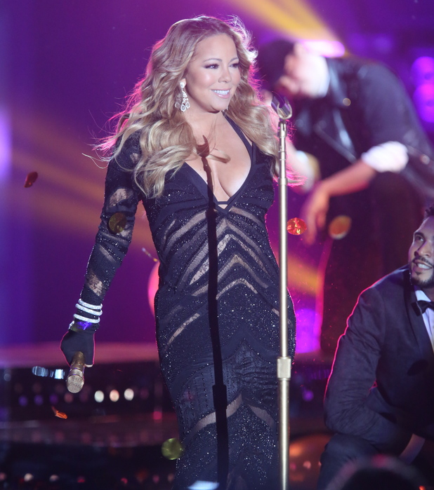 Mariah Carey at the 2014 World Music Awards at the Salle des Etoiles - Inside Monte Carlo, Monaco (27 May).