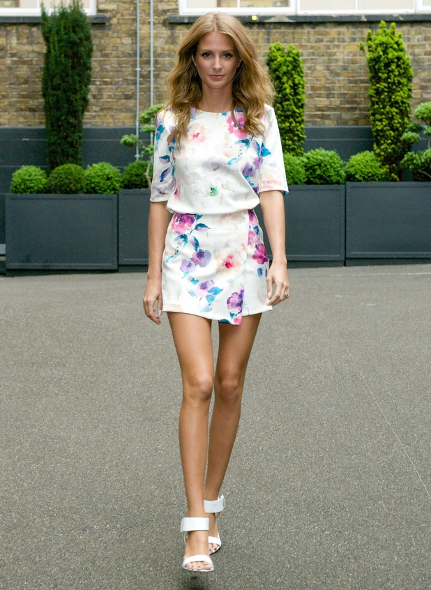 Millie Mackintosh wears Love Label by Very.co.uk at the Very VIP event in London, England - 28 May 2014